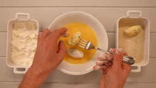 Croquetas de jamón - Paso 5