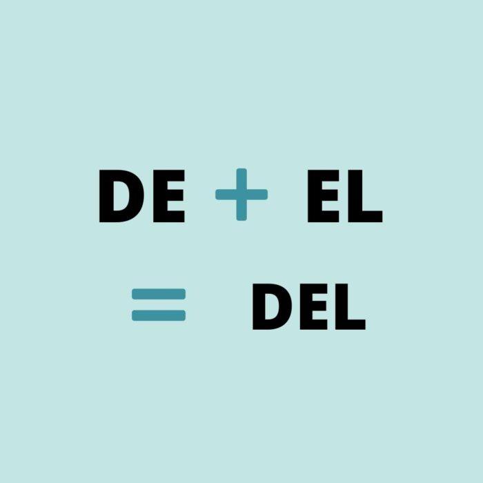 de espagnol