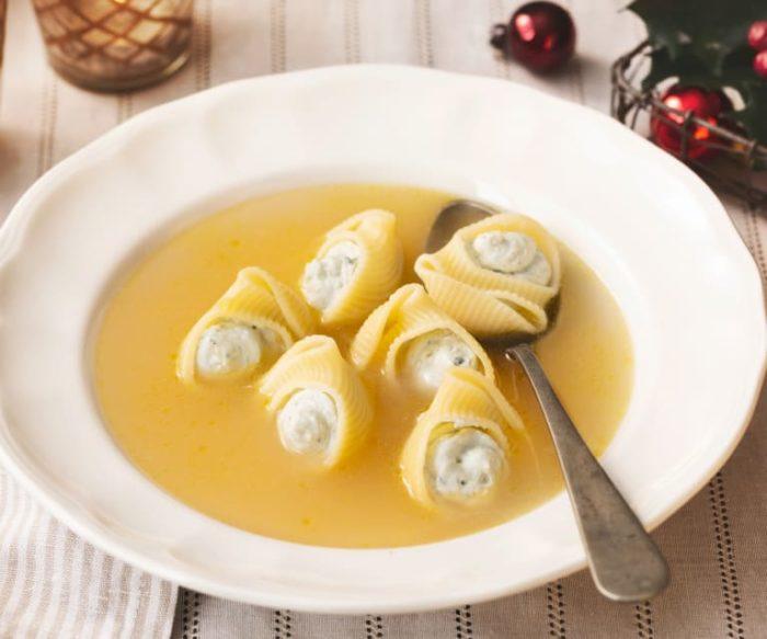 sopa gallets noel espagnol typique