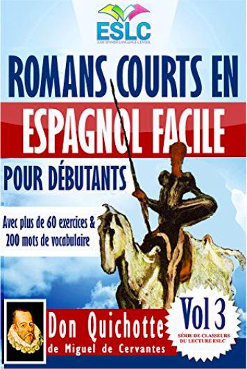 livre espagnol don quijote débutants