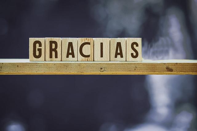 merci espagnol différentes manières