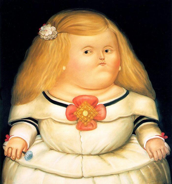 infanta margarita botero