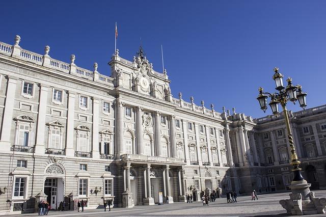 Palais royal madrid espagne monarchie