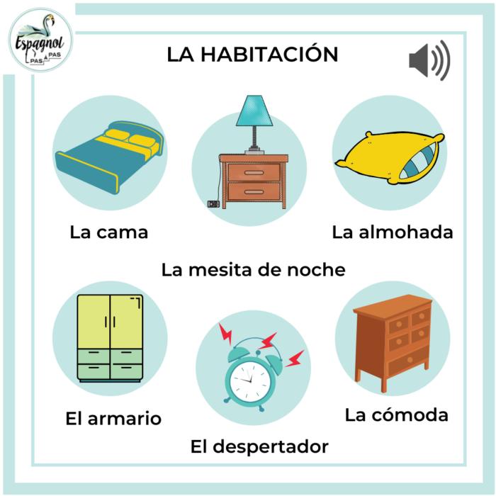Chambre herramienta espagnol