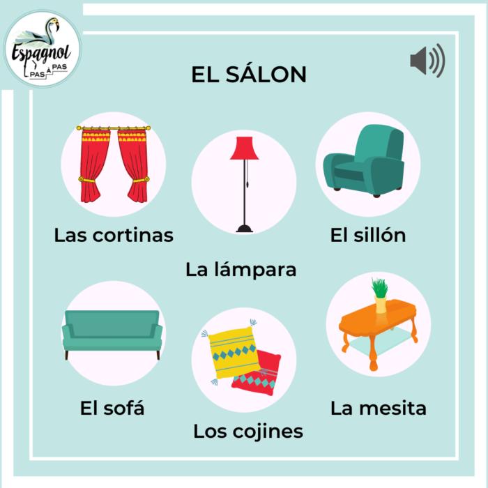 Salon herramienta espagnol