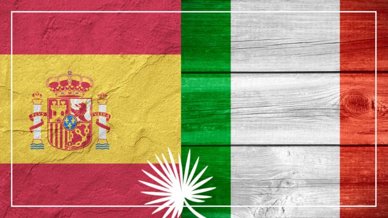 Confusion espagnol et italien