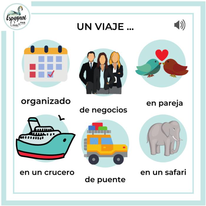 voyage en espagnol