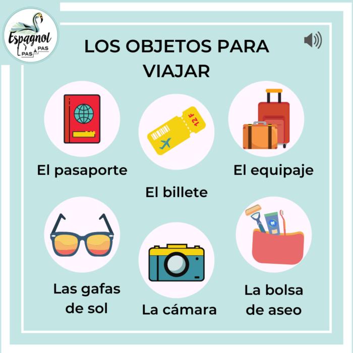 indispensables pour voyager en espagnol