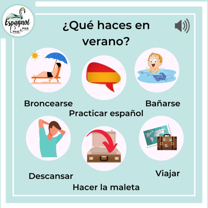 activite vacances ete apprendre espagnol